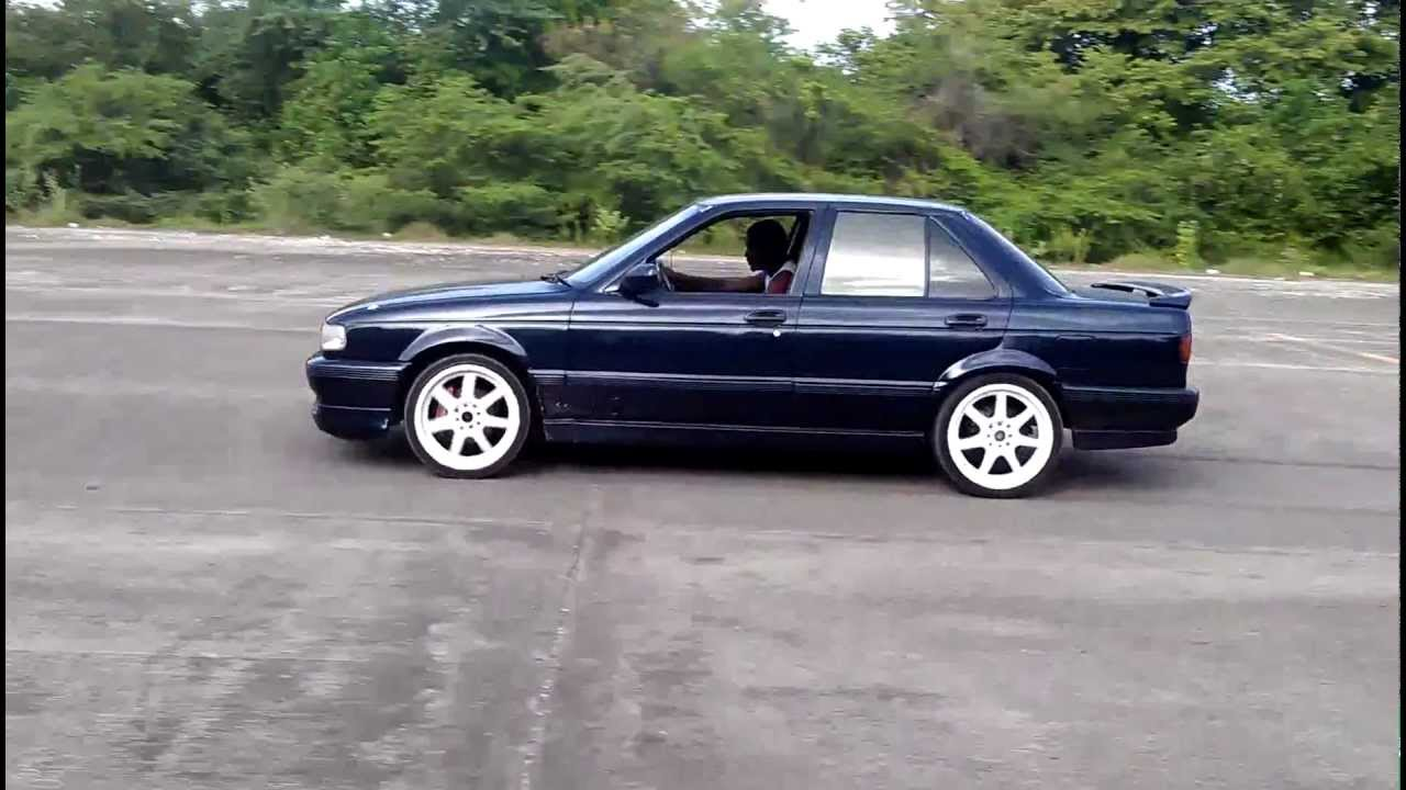 Nissan Sunny GTS sporting magnaflow exhaust - YouTube