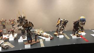 Best Of Show - Pueblo Wooden Carvings | Santa Fe Indian Market 2018 Clip 1