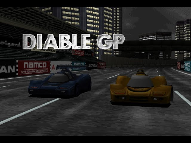 Rage Racer - Final Class 6 (Diable GP) playthrough