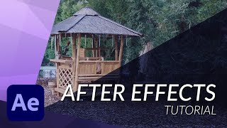 How to get your Footage from Daylight to Night in After Effects - TUTORIAL