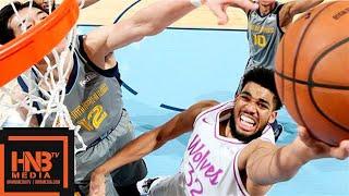 Minnesota Timberwolves vs Memphis Grizzlies Full Game Highlights | March 23, 2018-19 NBA Season