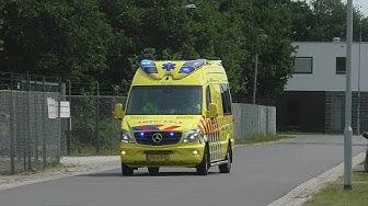 A1 *Nieuwe* Otaris Ambulance 03-131 Emmen vanaf post Emmen