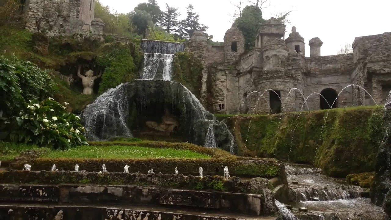 Tivoli Gardens , Villa Desaye , Italy 23-4-14 גני טיבולי וילה דהסייה ...