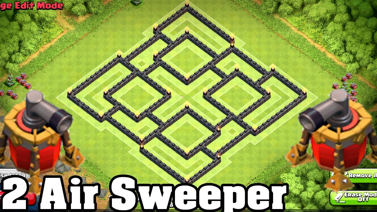 Clash of clans best town hall 9 th9 farming base defense new coc