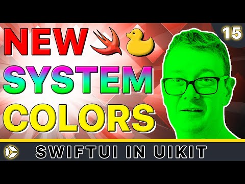 SwiftUI in UIKit - New System Colors | Swift 5, Xcode 10 thumbnail