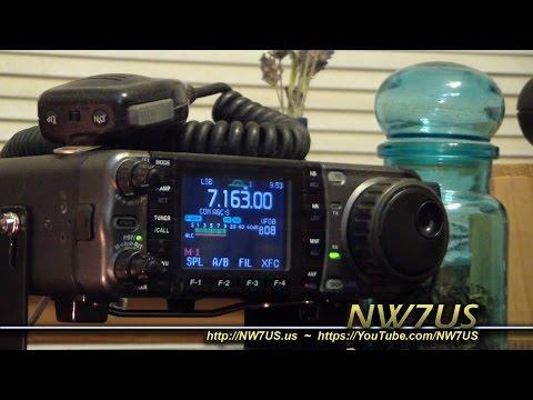 What Do I Hear on Shortwave Ham Radio? NW7US Vlog 20 April 2015