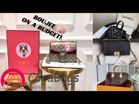 Boujee On A Budget | Designer LUXURY Bags | Home Decor and More