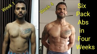 How To Get Six Pack Abs | Fastest Way To Get Abs | 4 Weeks Abs Workout Plan