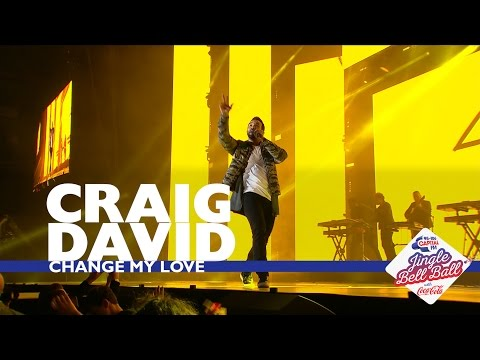 Craig David - 'Change My Love' (Live At Capital's Jingle Bell Ball 2016)
