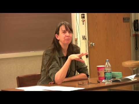 Christiane Donahue -- Hutton Lectures 2010