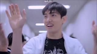 東方神起/TVXQ_眼鏡先輩ユノと生足チャンミン 眼鏡先輩 検索動画 2