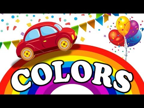 Let's Learn The Colors! - Cartoon Animation Color Songs for Children