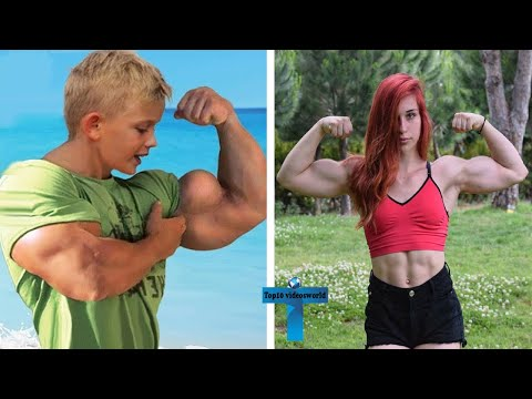 Top 10 Strongest Kids Who Took It To Another Level | Bodybuilder Muscular Kids