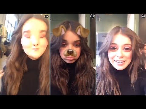 Hailee Steinfeld   Best Snapchat Videos   2016
