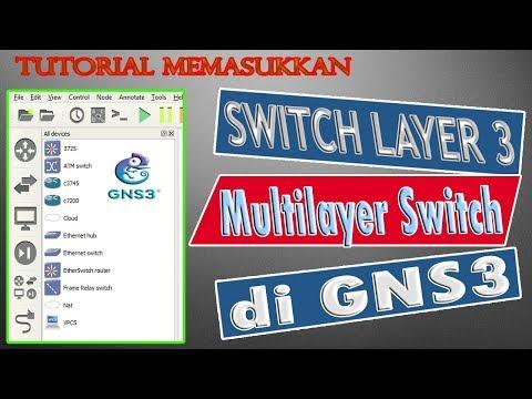 Tutorial Cara memasukkan ios switch layer 3 / multilayer switch ke