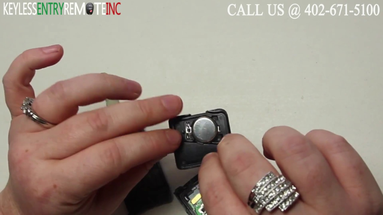 how to replace an acura tl key fob battery 2007 2014 [ 1280 x 720 Pixel ]