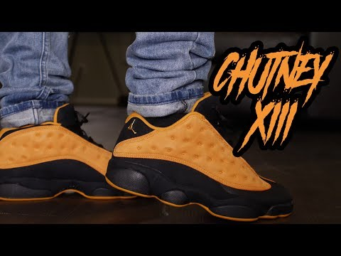 """HOT OR NOT ?!?! JORDAN 13 LOW """"CHUTNEY"""" REVIEW AND ON FOOT !!! 4K"""