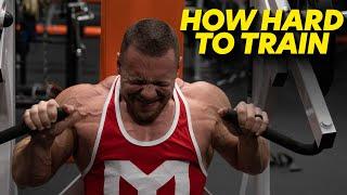 How Hard Should You Train?