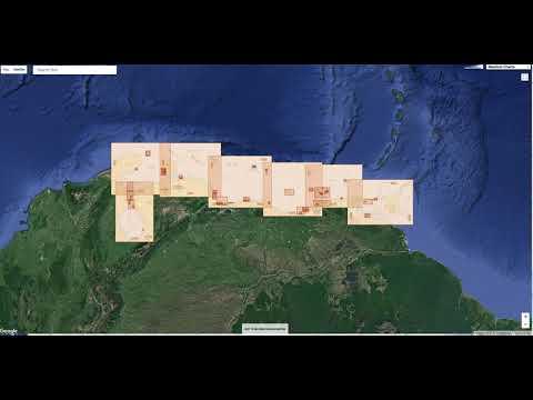 Nautical raster charts layers in the GeoGarage platform