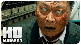 Сок У против зараженного Ёнга - Поезд в Пусан (2016) - Момент из фильма