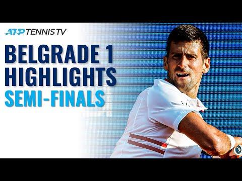 Djokovic vs Karatsev; Berrettini vs Daniel | Serbia Open 2021 Semi-Final Highlights