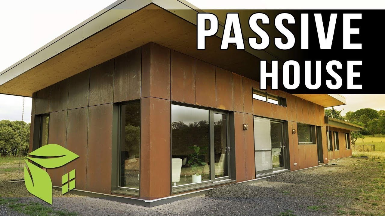 ecoEVO #1 CLT Cross Laminated Timber Passive House principled home
