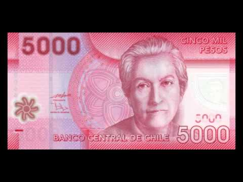 All Chilean Peso Banknotes - Banco Central De Chile - 2009 To 2013 Issues