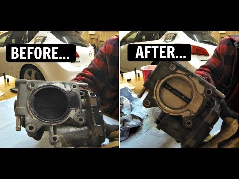 Mazda 3 Throttle Body Removal/Cleaning!