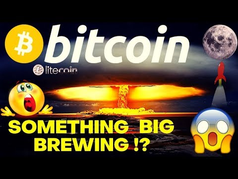🔥BITCOIN Something Big Brewing!?!🔥bitcoin litecoin price prediction, analysis, news, trading