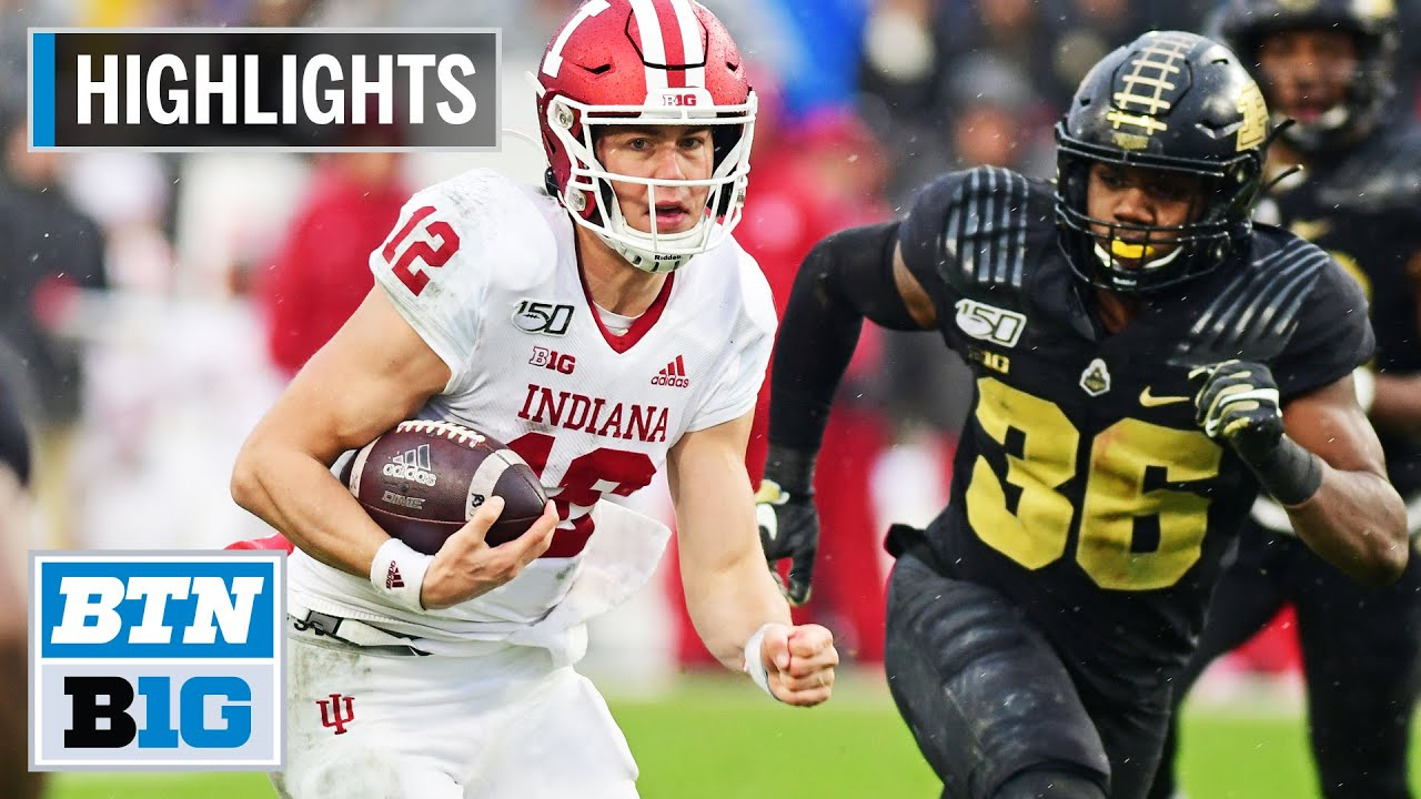 Purdue football vs. Indiana: Video highlights, score update