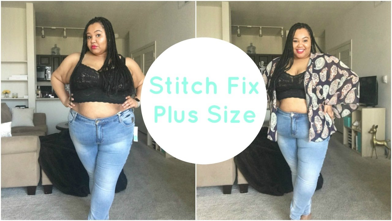 Stitch Fix Plus Size Try-On | Honest Review | Unboxing ...