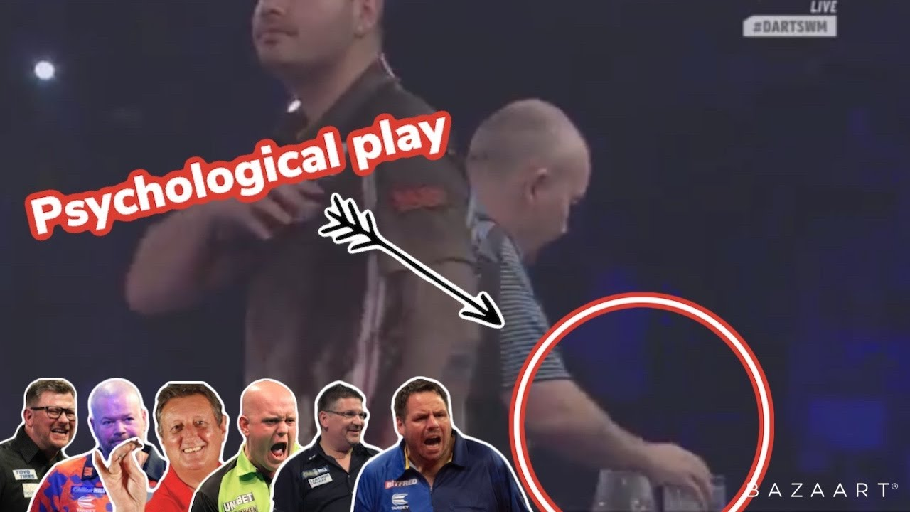 TOUGHEST player to play. PSYCHOLOGICAL edge before a dart thrown