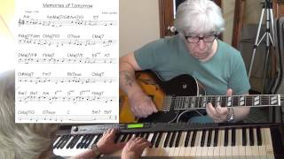 Memories Of Tomorrow  - Jazz guitar & piano cover ( Keith Jarrett ) Yvan Jacques