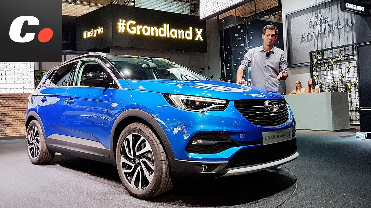 opel grandland x suv sal n de frankfurt iaa 2017. Black Bedroom Furniture Sets. Home Design Ideas