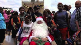 Indian Pacific Outback Christmas 2011 with Jessica Mauboy