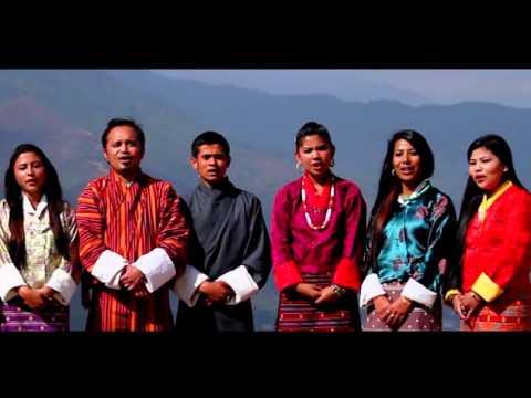 """Bhutani ko Suvakamana"" Tribute to Our His Majesty the Fourth Druk Gyalpo on 60th Bday- 11-11-2015"