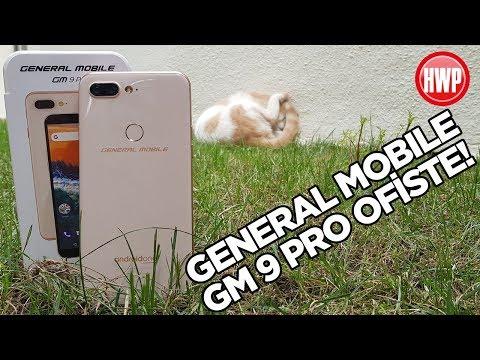 General Mobile GM 9 Pro ofiste! | Kutu açılışı