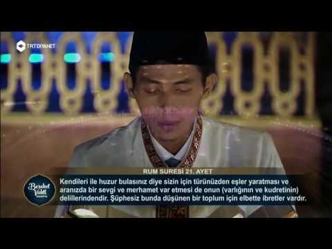 INILAH SUARA ZAINAL ABIDIN , QORI TERBAIK DUNIA 2016 DI TURKI , ASAL INDONESIA