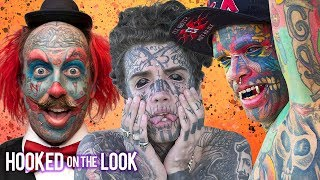 My Extreme Tattoos (30 Min Documentary) | HOOKED ON THE LOOK