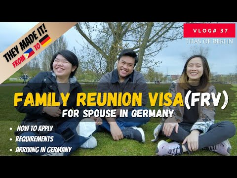 FAMILY REUNION VISA FOR SPOUSE IN GERMANY | VLOG#37 | FILIPINOS IN GERMANY