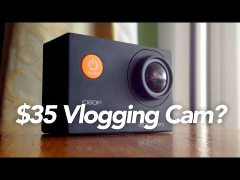 $35 Vlogging Camera? (APEMAN 1080p Action Camera Review)
