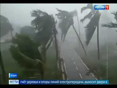 Ураган в Индии 300 км в час. взлетает всё. 03.05.2019