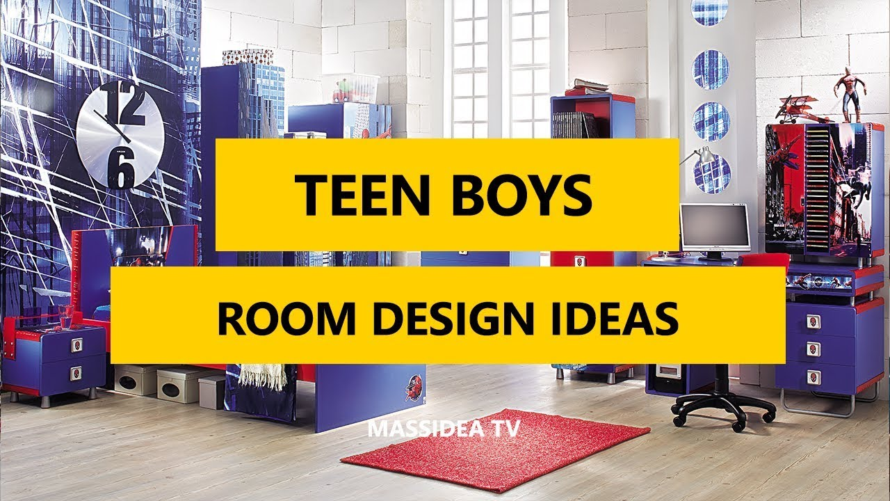 75+ Best Teen Boys Room Design Ideas In 2017