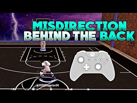 NBA 2K20 MISDIRECTION BEHIND THE BACK GRINDING DF SIGNATURE MOVE DRIBBLE TUTORIAL KingSuperior