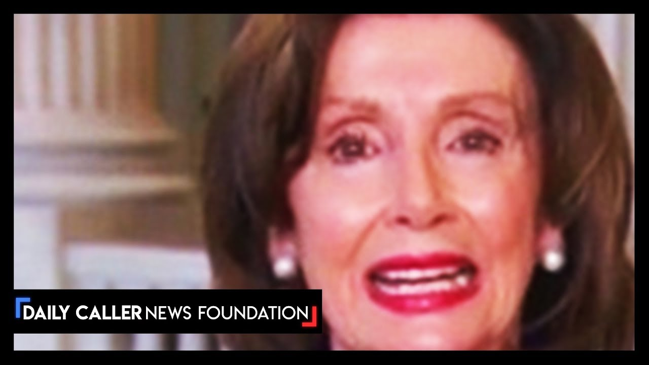 Nancy Pelosi Blames The President For People Dying