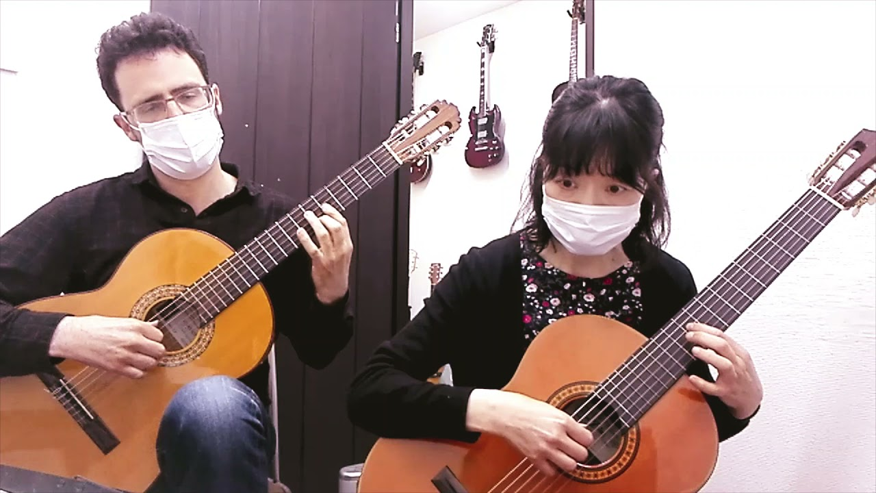 "Isako & Carl play Beethoven's ""Moonlight Sonata"""