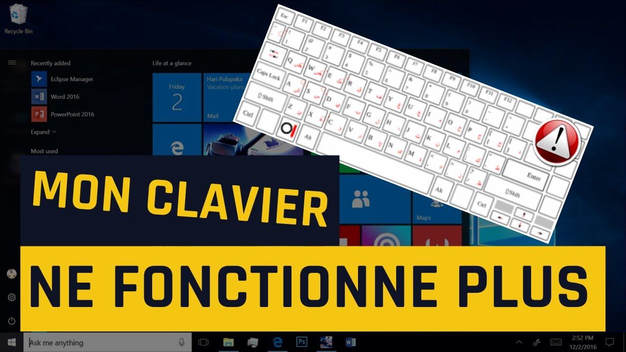 Mon clavier ne fonctionne plus dans Windows 10 [3 Solutions]