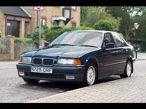 BMW E36 325 TD TURBO DIESEL SALOON VIDEO REVIEW  YouTube