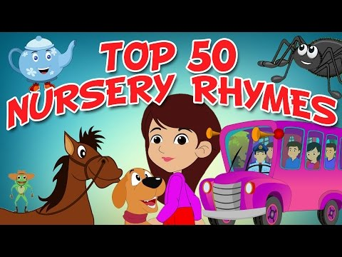 Top 50 Hit Songs  Collection Of Animated Nursery Rhymes For Kids