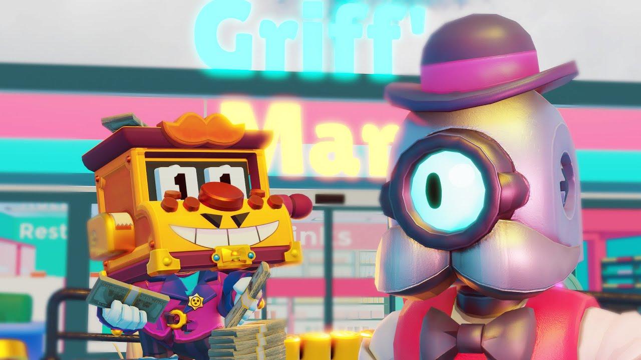 Griff & Barley's Shop War - Brawl Stars 3D Animation